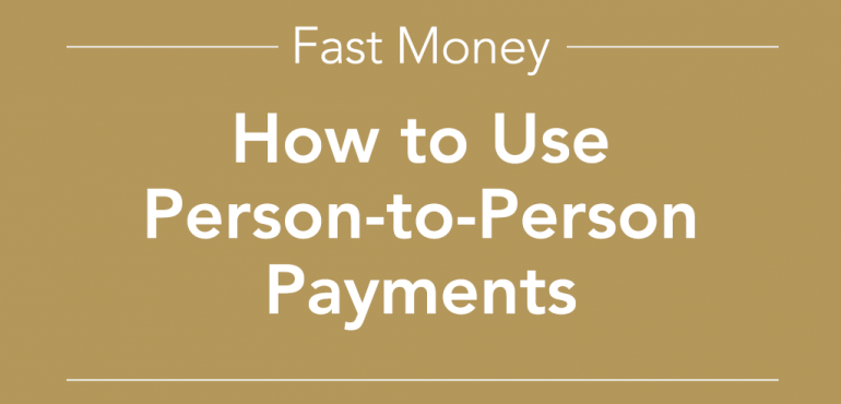 picture of person to person payments